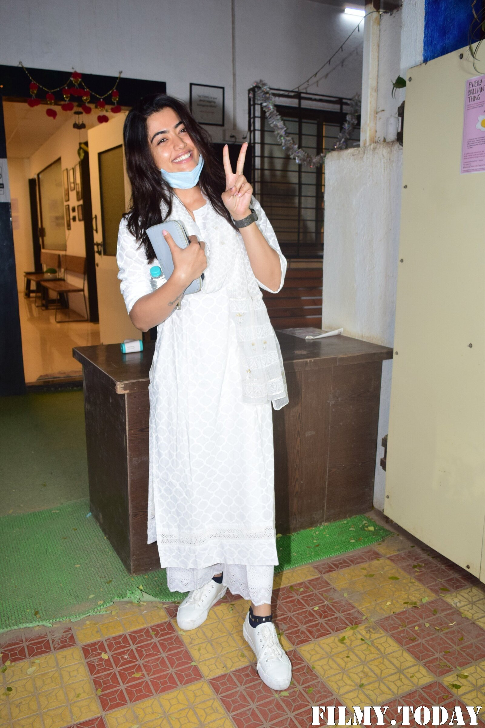 Rashmika Mandanna - Photos: Celebs Spotted At Mukesh Chhabra Office | Picture 1770526