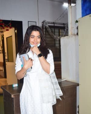 Rashmika Mandanna - Photos: Celebs Spotted At Mukesh Chhabra Office | Picture 1770524