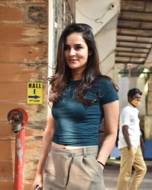 Angira Dhar - Photos: Celebs Spotted At Super Star Hall In Andheri
