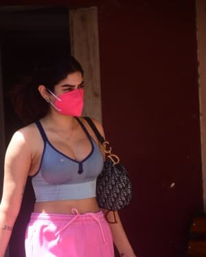 Khushi Kapoor - Photos: Celebs Spotted At Gym | Picture 1809978