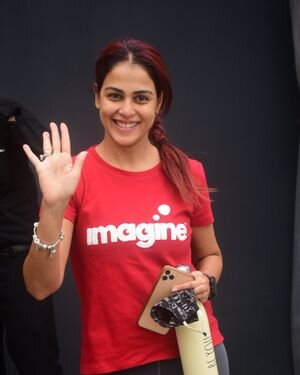 Genelia D Souza - Photos: Celebs Spotted At Gym
