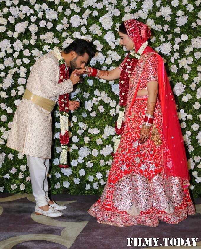 Photos: Rahul Vaidya & Disha Parmar Wedding   Picture 1816366
