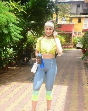 Raai Laxmi - Photos: Celebs Spotted At Gym | Picture 1817374