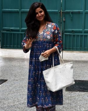 Nimrat Kaur - Photos: Celebs Spotted At Maddock Office | Picture 1818879