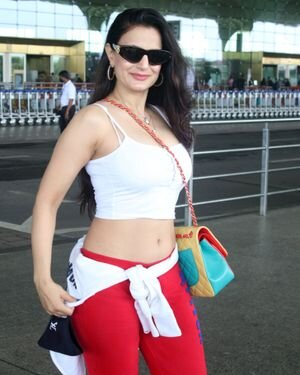 Ameesha Patel - Photos: Celebs Spotted At Airport