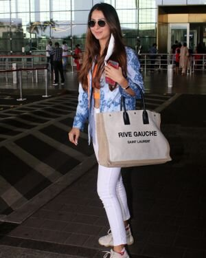 Malvika Raaj - Photos: Celebs Spotted At Airport | Picture 1819543