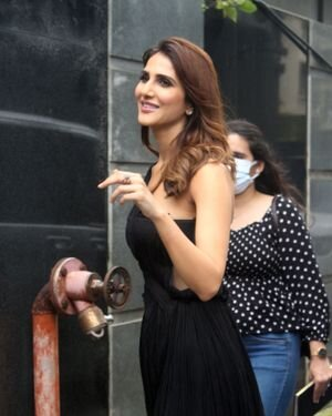 Vaani Kapoor - Photos: Promotion Of Film Bell Bottom At Pooja Entertainment Office   Picture 1819556