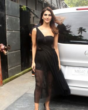 Vaani Kapoor - Photos: Promotion Of Film Bell Bottom At Pooja Entertainment Office
