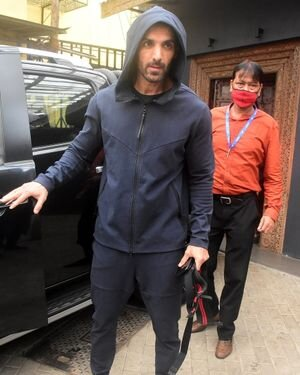 John Abraham - Photos: Celebs Spotted At Bandra | Picture 1820130