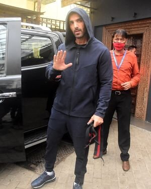 John Abraham - Photos: Celebs Spotted At Bandra | Picture 1820131