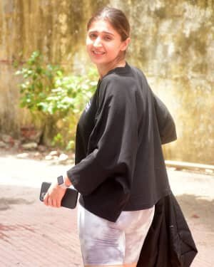Dhvani Bhanushali - Photos: Celebs Spotted At Gym | Picture 1805782