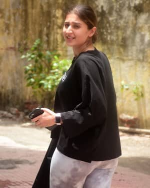 Dhvani Bhanushali - Photos: Celebs Spotted At Gym | Picture 1805783