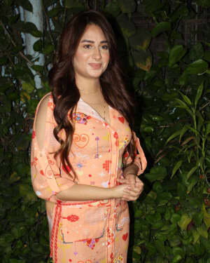 Photos: Mahira Sharma Spotted During Shooting Of A Magazine Cover   Picture 1805788