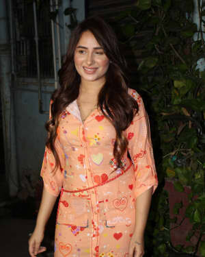 Photos: Mahira Sharma Spotted During Shooting Of A Magazine Cover   Picture 1805790