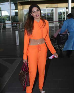 Nikki Tamboli - Photos: Celebs Spotted At Airport