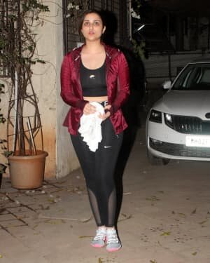 Parineeti Chopra - Photos: Celebs Spotted At Dance Class In Juhu | Picture 1778348