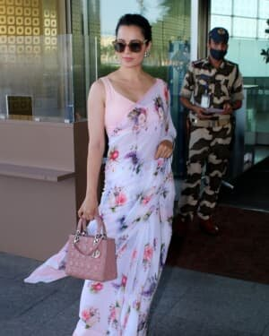 Kangana Ranaut - Photos: Celebs Spotted At Airport   Picture 1778626