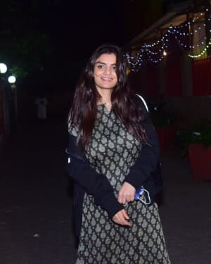 Anveshi Jain - Photos: Celebs Spotted At Bandra | Picture 1778800