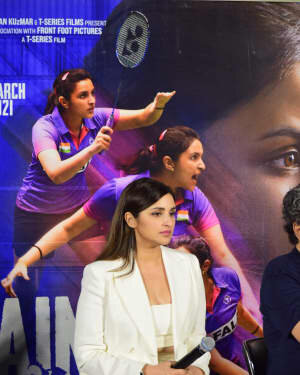 Photos: Trailer Launch Of Film 'SAINA' | Picture 1778659