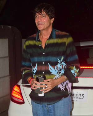 Chunky Pandey - Photo: Bunty Sachdeva House Party At Bandra