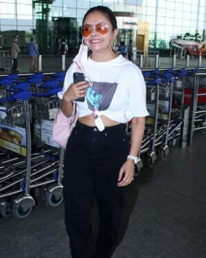 Devoleena Bhattacharjee - Photos: Celebs Spotted At Airport