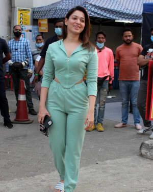 Tamanna Bhatia - Photos: Celebs Spotted At Filmcity