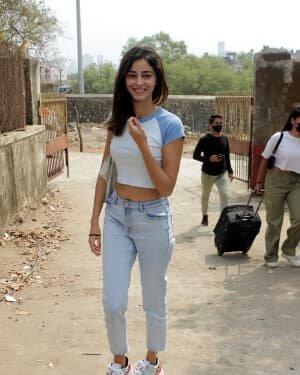 Ananya Panday - Photos: Celebs Spotted At Versova