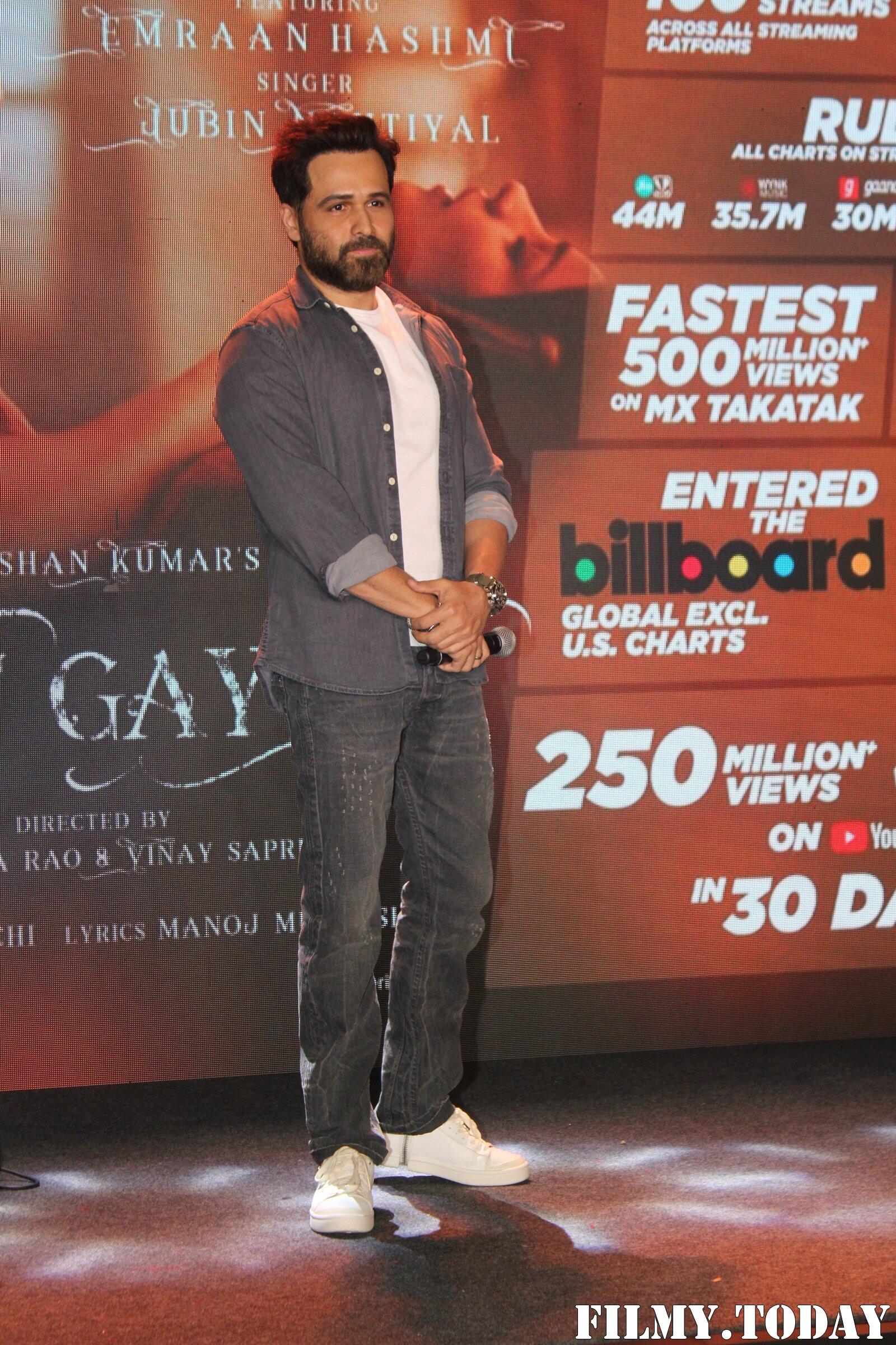 Emraan Hashmi - Photos: Celebrating The Success Of Single 'Lut Gaye ' | Picture 1780945