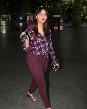 Arshi Khan - Photos: Celebs Spotted At Airport | Picture 1780975