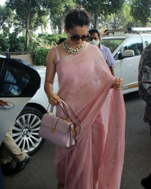 Kangana Ranaut - Photos: Celebs Spotted At Airport   Picture 1780883