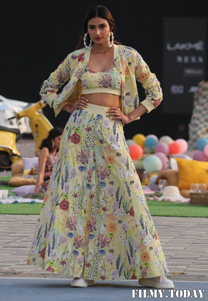 Athiya Shetty - Photos: Lakme Fashion Week 2021 Day 2 | Picture 1781056