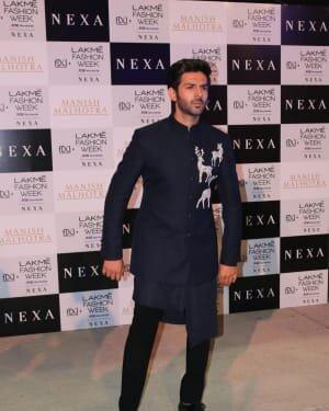 Kartik Aaryan - Photos: Lakme Fashion Week 2021 Day 2