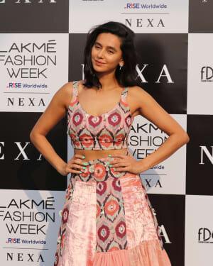 Shibani Dandekar - Photos: Lakme Fashion Week 2021 Day 2 | Picture 1781029