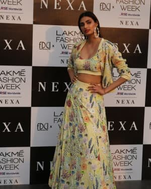 Athiya Shetty - Photos: Lakme Fashion Week 2021 Day 2
