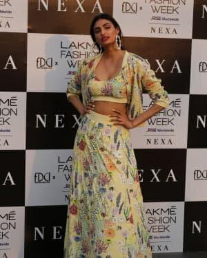 Athiya Shetty - Photos: Lakme Fashion Week 2021 Day 2 | Picture 1781068