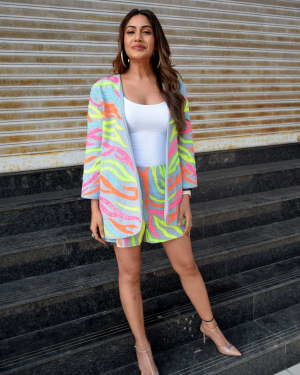 Surbhi Chandna - Photos: Promotion Of Music Video Bepanah Pyaar | Picture 1780903