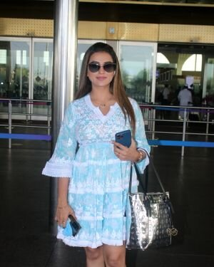 Akshara Singh - Photos: Celebs Spotted At Airport | Picture 1828262