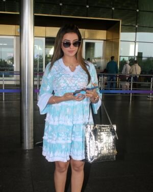 Akshara Singh - Photos: Celebs Spotted At Airport | Picture 1828258