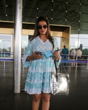 Akshara Singh - Photos: Celebs Spotted At Airport | Picture 1828261