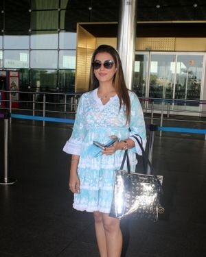 Akshara Singh - Photos: Celebs Spotted At Airport | Picture 1828253