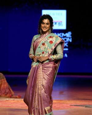 Taapsee Pannu - Photos: Gaurang Show At Lakme Fashion Week 2021