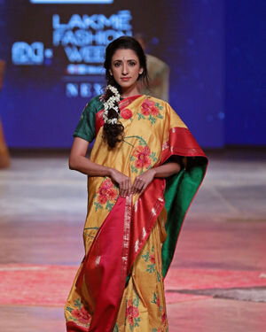 Photos: Gaurang Show At Lakme Fashion Week 2021
