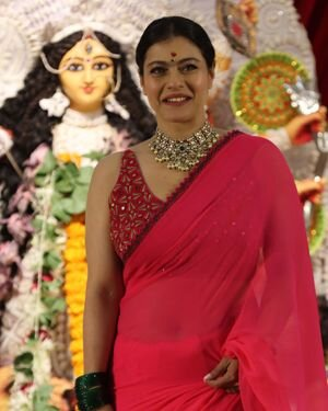 Kajol - Photos: Celebs At North Bombay Durga Pooja Samiti 2021 | Picture 1828540