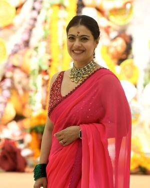 Kajol - Photos: Celebs At North Bombay Durga Pooja Samiti 2021 | Picture 1828542