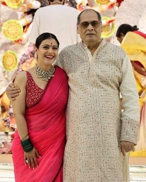 Photos: Celebs At North Bombay Durga Pooja Samiti 2021