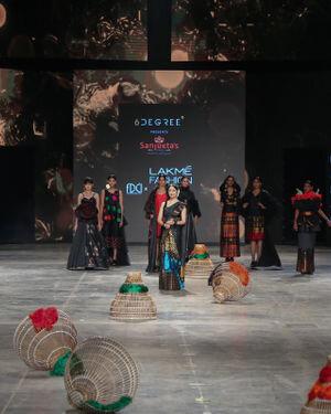 Photos: Sanyukta Dutta Show At Lakme Fashion Week 2021