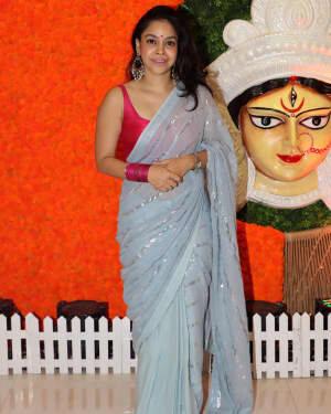 Sumona Chakravarti - Photos: Celebs At North Bombay Durga Pooja Samiti 2021 | Picture 1828599