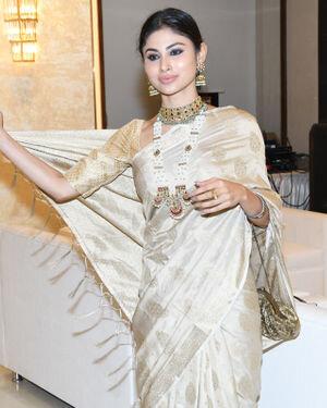 Mouni Roy - Photos: Celebs At North Bombay Durga Pooja Samiti 2021