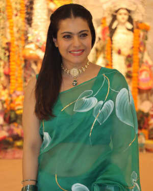 Kajol - Photos: Celebs At North Bombay Durga Pooja Samiti 2021 | Picture 1828595