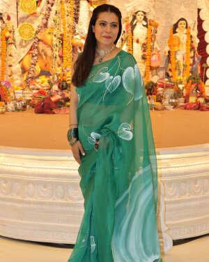 Kajol - Photos: Celebs At North Bombay Durga Pooja Samiti 2021 | Picture 1828596